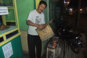 Ayam Bakar or grilled chicken. Delicious!
