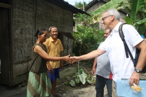 Meeting borrowers at their home